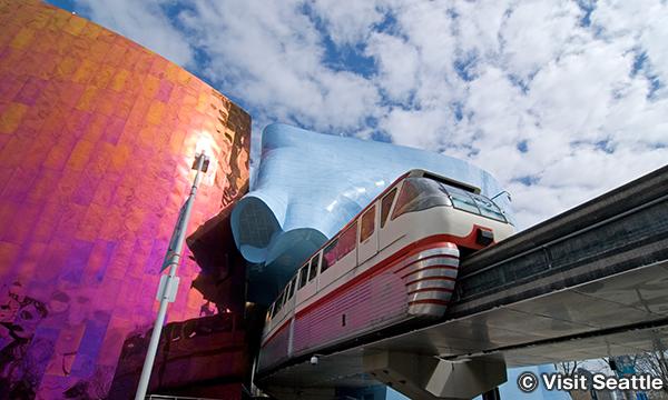 シアトル・センター・モノレール Seattle Center Monorail