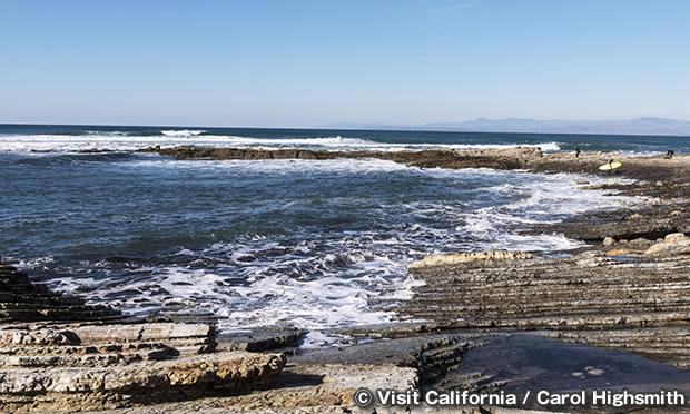 モロ・ロック・ビーチ Morro Rock Beach