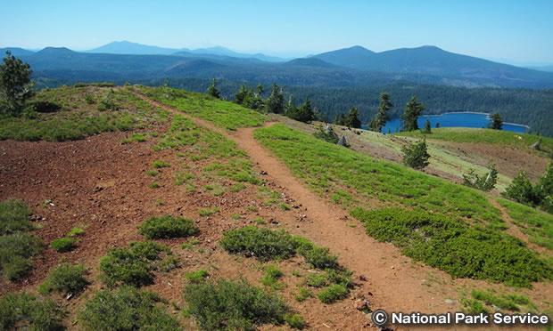 ハークネス山 トレイル Mount Harkness Trail