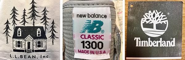 Newbalance, Cole Haan, Timberland, L.L.Bean