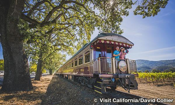 ナパバレー・ワイントレイン Napa Valley Wine Train