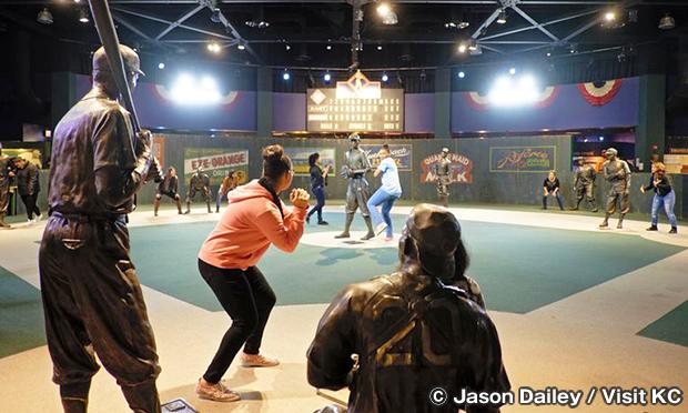 ニグロリーグ野球博物館 Negro Leagues Baseball Museum