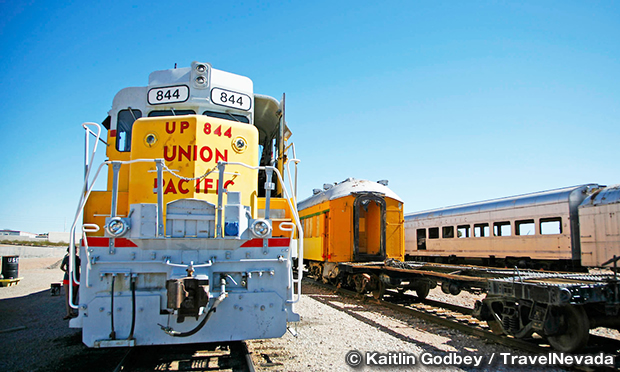 ネバダ州立鉄道博物館 ボルダーシティ Nevada State Railroad Museum Boulder City