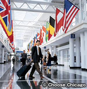 オヘア国際空港 O'Hare International Airport