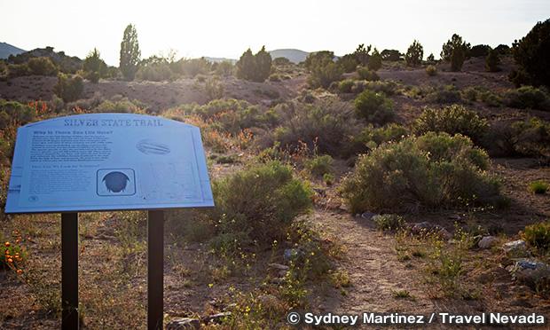 オーク・スプリングス・トリロビート・エリア Oak Springs Trilobite Area