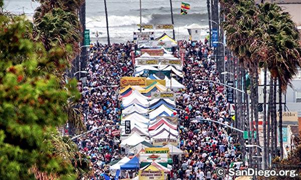 オーシャンビーチ ストリート フェア Ocean Beach Street Fair
