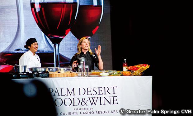 パームデザート フードワイン フェスティバル The Palm Desert Food Wine Festival