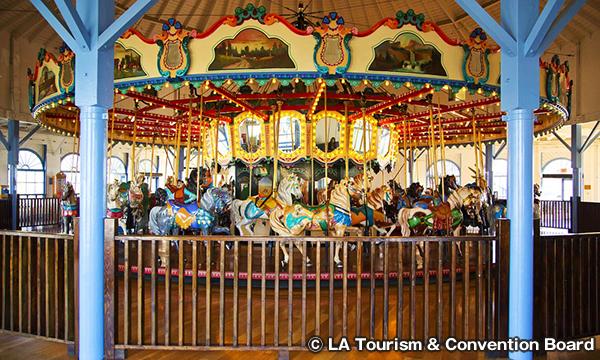 サンタモニカ カルーセル Santa Monica Carousel