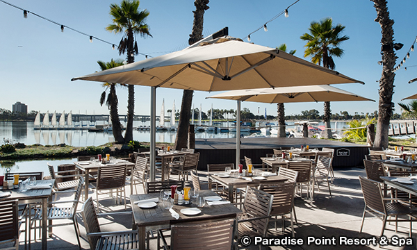 パラダイス ポイント リゾート&スパ Paradise Point Resort & Spa