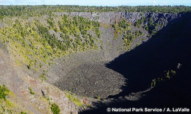 パウアヒ・クレーター Pauahi Crater