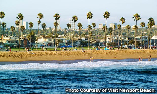 ニューポート・ビーチ・ペニンシュラ・ビーチ(Newport Beach Municipal Beach)