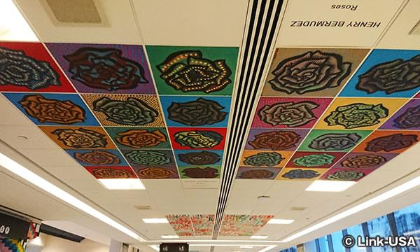 フィラデルフィア空港のアート・エキシビジョン