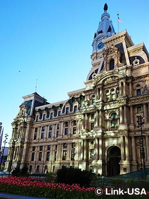 フィラデルフィア市庁舎 Philadelphia City Hall