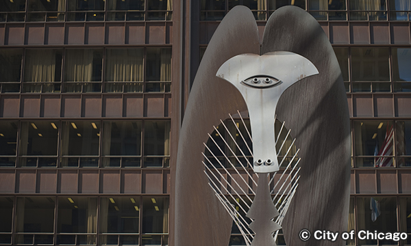 シカゴの野外アート