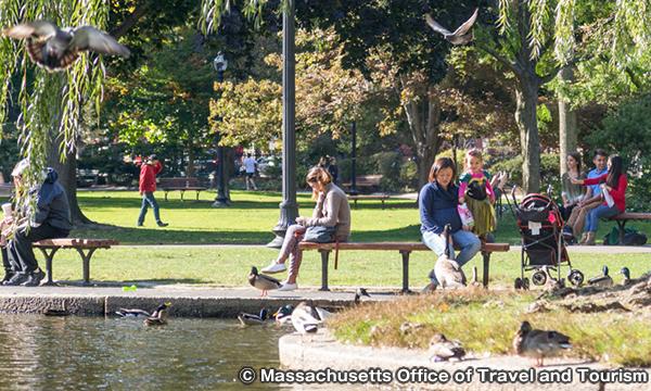 ボストン パブリックガーデン Boston Public Garden