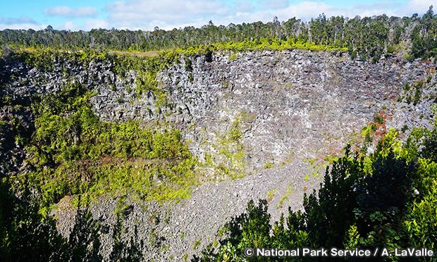 プヒマウ・クレーター Puhimau Crater