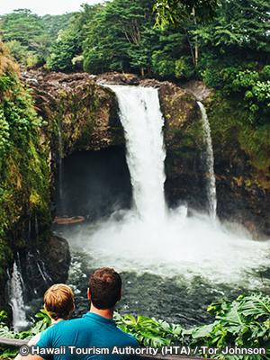 レインボー滝 Rainbow Falls