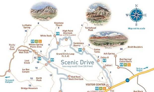 シーニック・ループ・ドライブ Scenic Loop Drive<