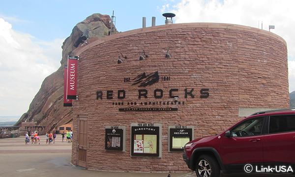 レッドロック野外劇場 Red Rocks Amphitheatre