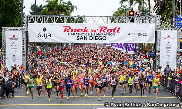 ロックンロール マラソン Rock n Roll Marathon San Diego
