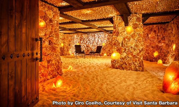 ソルト ケイブ サンタバーバラ Salt Cave Santa Barbara