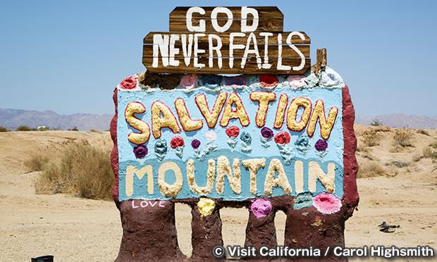 サルベーションマウンテン Salvation Mountain