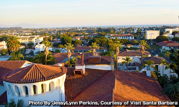 サンタバーバラ郡庁舎 Santa Barbara County Courthouse
