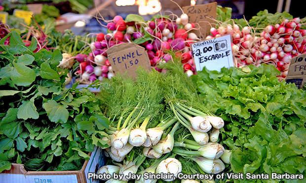 サンタバーバラ ファーマーズマーケット Santa Barbara Farmers Market