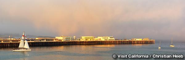 サンタクルーズ ワーフ Santa Cruz Wharf
