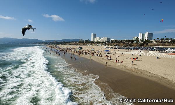 サンタモニカ・ビーチ Santa Monica State Beach