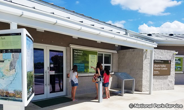 シャーク・バレー・ビジター・センター Shark Valley Visitor Center