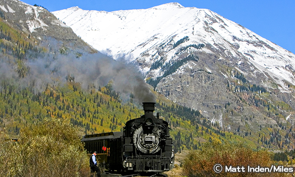 デュランゴ&シルバートン狭軌鉄道 Durango and Silverton Narrow Gauge Railroad