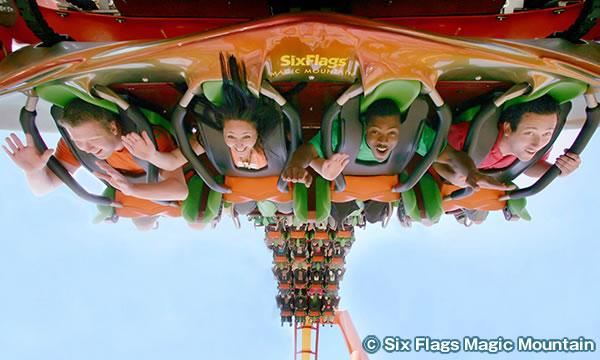 シックス・フラッグス・マジック・マウンテン Six Flags Magic Mountain