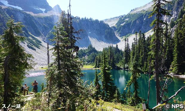 ベンチ&スノー・レイク・トレイル Bench and Snow Lake Trail