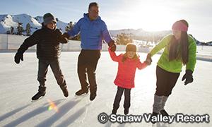 スコー・バレー・リゾート Squaw Valley Resort アイススケート