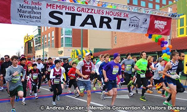 セントジュード・メンフィス・マラソン・ウィークエンド St. Jude Memphis Marathon Weekend