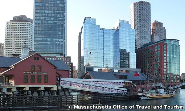 ボストン茶会事件船と博物館 Boston Tea Party Ships & Museum