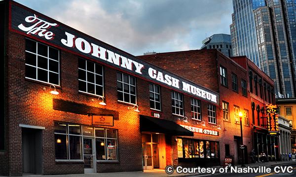 ジョニー キャッシュ博物館 The Johnny Cash Museum