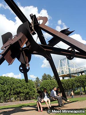 ミネアポリス・スカルプチャー・ガーデン Minneapolis Sculpture Garden