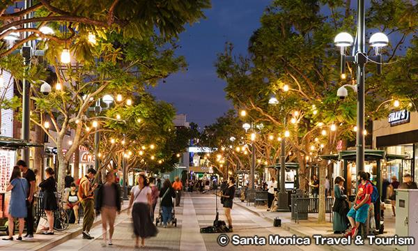 サード ストリート プロムナード Third Street Promenade