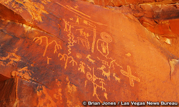 ペトログライフ・キャニオン・トレイル Petroglyph Canyon Trail