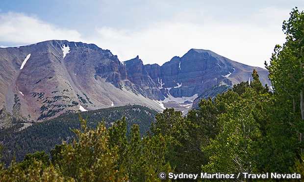 ホイーラー・ピーク展望台 Wheeler Peak Overlook