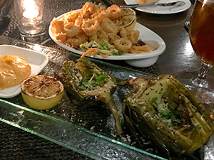 Pinzimini のディナー