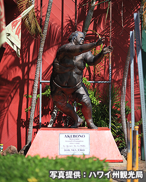 曙のブロンズ像