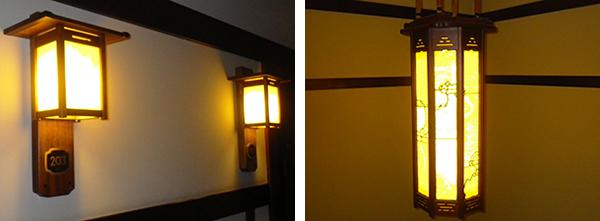 廊下や踊り場の照明器具