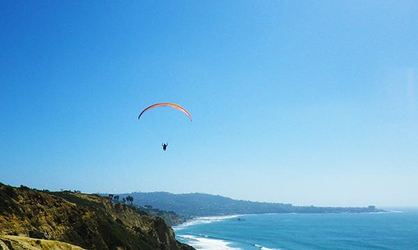 南カリフォルニアの旅 2016 トーリー パイン グライダーポート