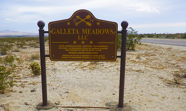 ガレッタメドウズ Galleta Meadows