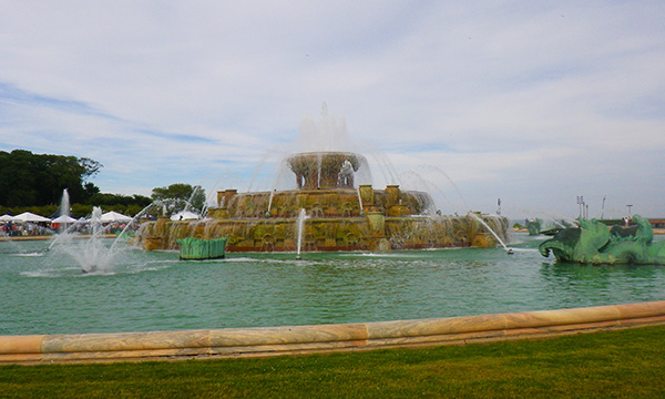 バッキンガム噴水 Clarence Buckingham Memorial Fountain