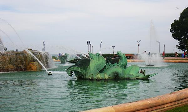 バッキンガム噴水 Clarence Buckingham Memorial Fountain