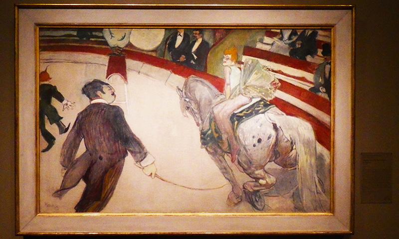 Equestrienne (At the Cirque Fernando)
